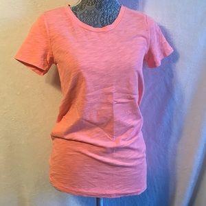 J CREW neon pink T-shirt